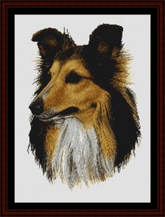 Shetland - Cross Stitch Collectibles fine art counted cross stitch pattern