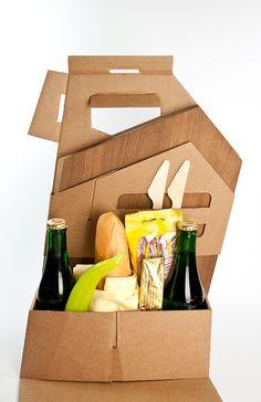 Roughcut Picknick Box on Behance