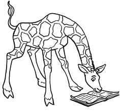 8 best giraffe coloring pages images  giraffe coloring