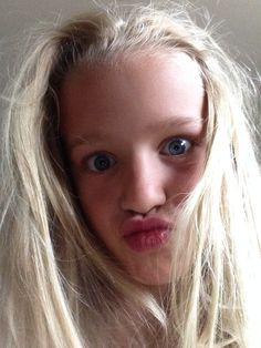 Crazy face Britt