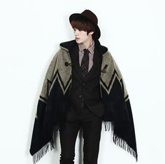 male poncho - Google Search