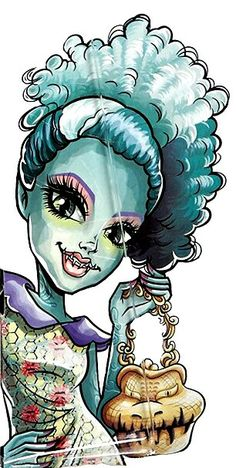 Monster High Gore-geuss Accessories Honey Swamp Artwork