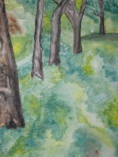 watercolor- landscape