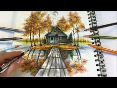 The Lake House | Ticket To Dreams Coloring Book by Karolina Kubikowska - YouTube