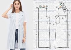 Amazing Sewing Patterns Clone Your Clothes Ideas. Enchanting Sewing Patterns Clone Your Clothes Ideas. Coat Patterns, Dress Sewing Patterns, Clothing Patterns, Skirt Patterns, Blouse Patterns, Blazer Pattern, Jacket Pattern, Make Your Own Clothes, Diy Clothes