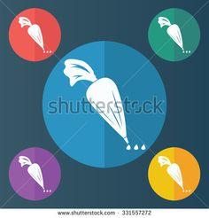 Icing Bag Stock Illustrations & Cartoons | Shutterstock