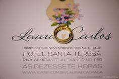 Casamento | Laura + Carlos | Vestida de Noiva | Blog de Casamento por Fernanda Floret