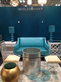 Gorgeous blues & gold at #WorldsAway booth 1436 #NYNOW 2013 http://on.fb.me/13zcaVt