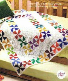 Easy]Crochet Quilt Afghan Pattern | 1001 Crochet Free Patterns ... : crochet quilt pattern - Adamdwight.com