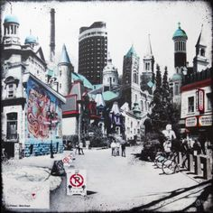 Discoveries: Montreal - an Art Book by Denise Buisman Pilger #art #painting @Denise Buisman Pilger