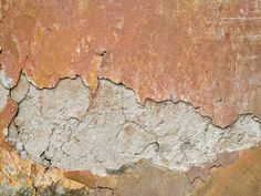 I love the texture of a plastered wall, and I like how this has cracked.