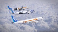 ANA Star Wars Planes