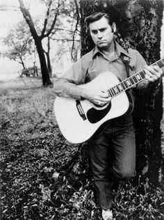 """""""I bought a Corvette, some cocaine and the rest I spent on foolishness."""" — George Jones on how he spent a $100K bonus he received in the early 1970s.  R.I.P. George"""