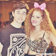Nash Grier and Mahogany *LOX*  she is so pretty I love her style!!!:)