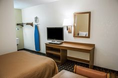 Guest room with added amenities | Rodeway Inn | Albuquerque, NM