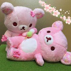 【nmk_nnf】さんのInstagramをピンしています。 《おだんごいいなぁ…  #リラックマ #コリラックマ #Rilakkuma #sanx #あつめておすわりぬいぐるみ #桜リラックマ #sakura #桜 #pink #ピンク #ごろん #おだんご #じー #かわいい #cute #lovely #リラックマストア》