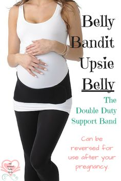Having a Belly Bandit Upsie Belly support band around your middle is an excellent way to reduce pain, fatigue, and make your heavy pregnancy days bearable. $70 http://mynaturalbabybirth.com/belly-bandit-upsie-belly-the-double-duty-support-band