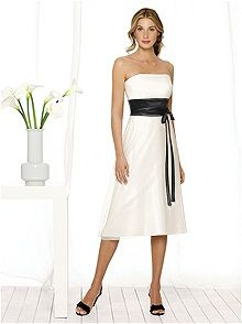 After Six Bridesmaid Style 6506    #white/ivory #bridesmaid #dress