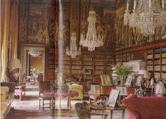 british country house | English Country House Libraries (page 7)