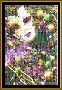 Mardi Gras Collection - Mardi Gras Accessories | Crafting | Cross-Stitch | Other