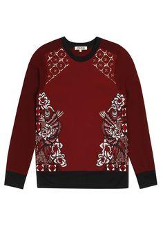 Neoprene Koi Sweatshirt TOP34 | AnhHa