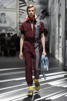 Prada Spring 2018 Mens Fashion Show - The Impression