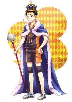 Sawamura Daichi | Haikyuu!! #anime lol he won oikawa & kageyama as king solo yolo