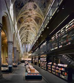 13th Century Dutch Bookstore