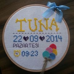 Tuna nın doğum panosu...