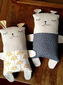 Sleepy Bear creatures dewberry workshop Sleepy Bear creatures dewberry workshop The Effective Pictures We Offer You About mainan bayi Baby Toys A quality picture can tell you many things. Softies, Sewing Toys, Baby Sewing, Soft Dolls, Diy Pillows, Diy Doll, Stuffed Toys Patterns, Sewing For Kids, Handmade Toys