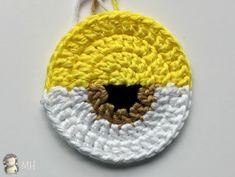 ojo de gorro Minion a crochet