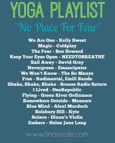 Yoga Playlist - No Place For Fear #BenefitsofYogaforKids Yoga Nidra, Yoga Régénérateur, Yoga Sequences, Yoga Flow, Yoga Meditation, Vinyasa Yoga, Namaste Yoga, Yoga Song, Hand Yoga