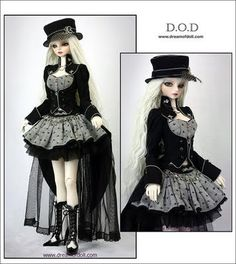 Dream of Doll Steampunk Dolls, Mode Steampunk, Gothic Dolls, Steampunk Costume, Diy Fashion, Fashion Dolls, Fashion Outfits, Kawaii Clothes, Doll Clothes