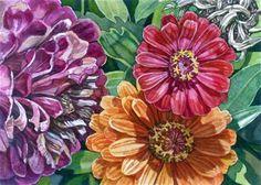 "Daily Paintworks - ""Sunshine Colours"" - Original Fine Art for Sale - © nicoletta baumeister"