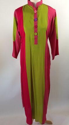 $55 Trendy Color Blocked Long Kurta - Libas USA