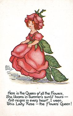 vintage postcard, by H. G. C. Marsh Lambert.