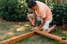 add a support beam Build A Swing Set, Diy Swing, Swing And Slide, Diy Playground, Wooden Swings, Play Areas, Outdoor Living, Projects To Try, How To Plan