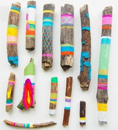 Colorful Patterned Sticks kids color pattern crafty kids crafts sticks summer activities summer activities for kids kids activities for summer kids crafts for summer Camping Activities, Camping Crafts, Activities For Kids, Spring Activities, Camping Gear, Camping Store, Nature Activities, Camping Outfits, Motor Activities