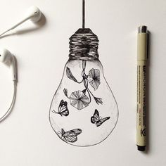 Art Inspiration: Lamp Project. Find my other drawings lamp at my shop alfredbasha.bigcartel.com ( link in bio ).