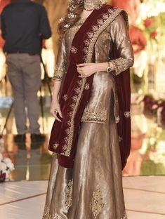 Pakistani Party Wear Dresses, Shadi Dresses, Pakistani Wedding Outfits, Pakistani Dress Design, Girls Dresses Sewing, Wedding Dresses For Girls, Indian Designer Outfits, Designer Dresses, Saree Wearing Styles