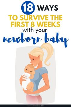 Everything you need to know about the first 8 weeks with a newborn baby. Tips for new parents on what to expect and how to survive those early weeks with your new baby. Baby Up, First Baby, Feeling Stupid, How Are You Feeling, Newborn Baby Tips, Nappy Change, Changing Station, Bedtime Routine, First Daughter
