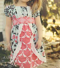 """Girls Spring Easter Dress - """"Marie Antoinette"""""""