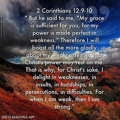 God is good all the time!... Paul's Hardships and God's Grace ... scripture