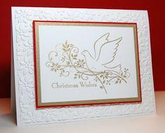 SU Gifts of Christmas, Gold Encore Ink, Petals A Plenty E F