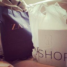 Zara & Top Shop on We Heart It