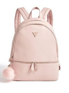 Calhoun Pom Rucksack bei Guess Trendy Handbags Ideas for 2020 Awesome Granny Square Cute Mini Backpacks, Stylish Backpacks, Girl Backpacks, Leather Backpacks, School Backpacks, Leather Bags, Leather Purses, Pu Leather, Guess Handbags
