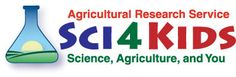 "Banner graphic that reads, ""Agricultural Research Service - Sci4Kids: Science, Agriculture, and You."""