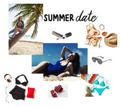"""""""summer date"""" by gui-12791 on Polyvore featuring Topshop and Vichy"""