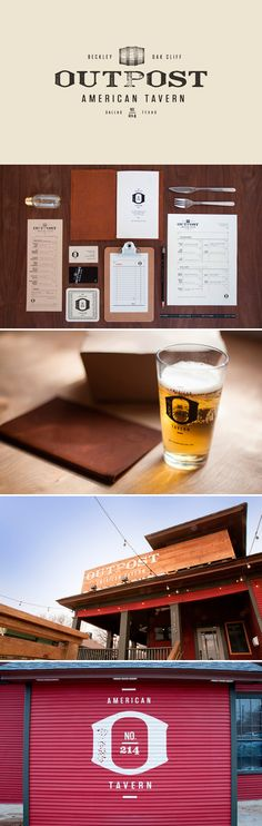 identity / outpost tavern | #stationary #corporate #design #corporatedesign #identity #branding #marketing