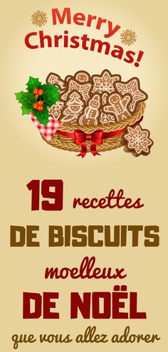 19 RECETTES DE BISCUITS MOELLEUX DE NOËL QUE VOUS ALLEZ ADORER Biscuit Cookies, No Bake Cookies, Cake Cookies, Xmas Food, Christmas Cooking, Valentine Chocolate, Cooking Chef, Soul Food, Cookie Recipes